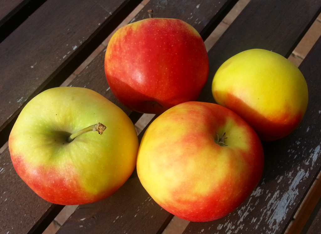Äpfel für Pfannkuchen