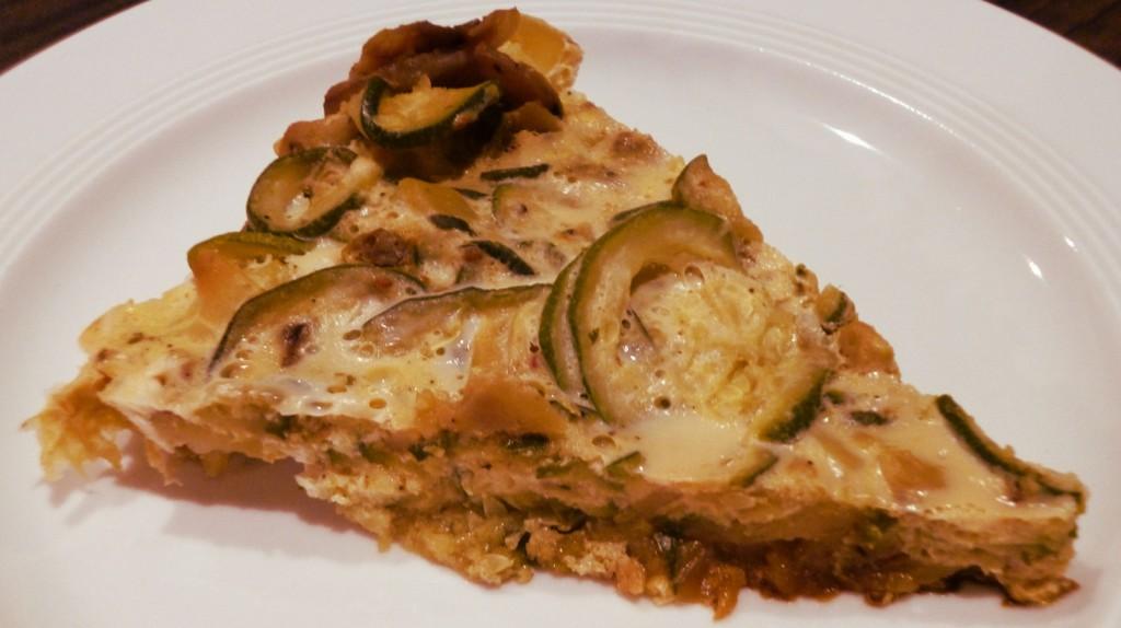 Zucchini-Paprika Tortilla