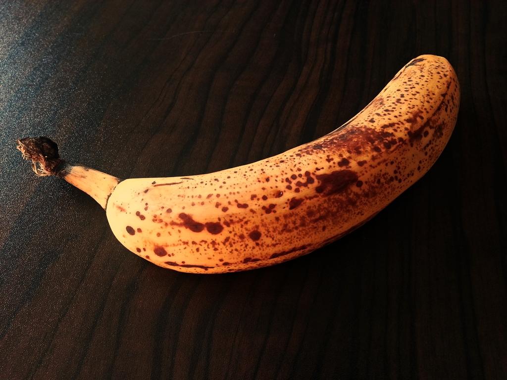 Bananen sind sehr empfindlich und reifen schnell.
